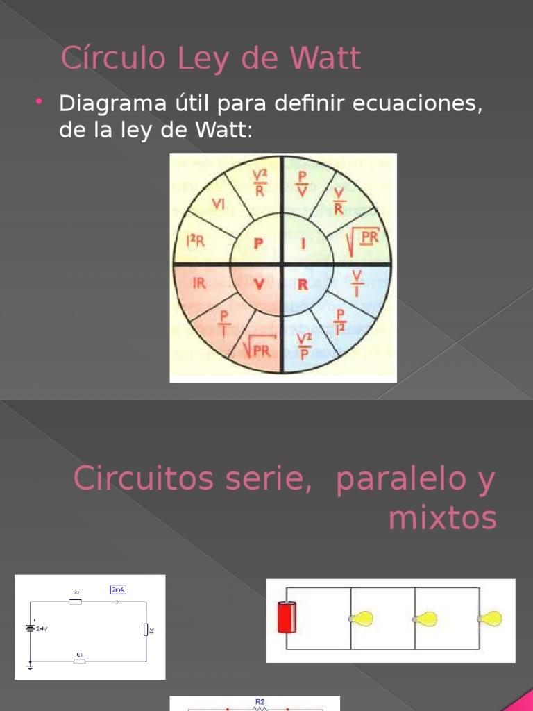 Circuito Seri E Paralelo : Clase circuitos serie paralelo y mixtos