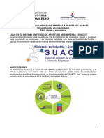 Guia de Apertura y Formalizacion de Empresas Del SUACE
