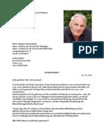 Dr. Hamer an Schwarzkopf