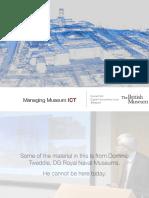 Managing Museum ICT UCL Museum Studies 2