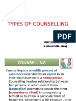 Presentation on counseling