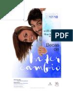 Folleto Convocatoria Intercambio 2017-2018