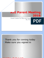aig parent session 2016