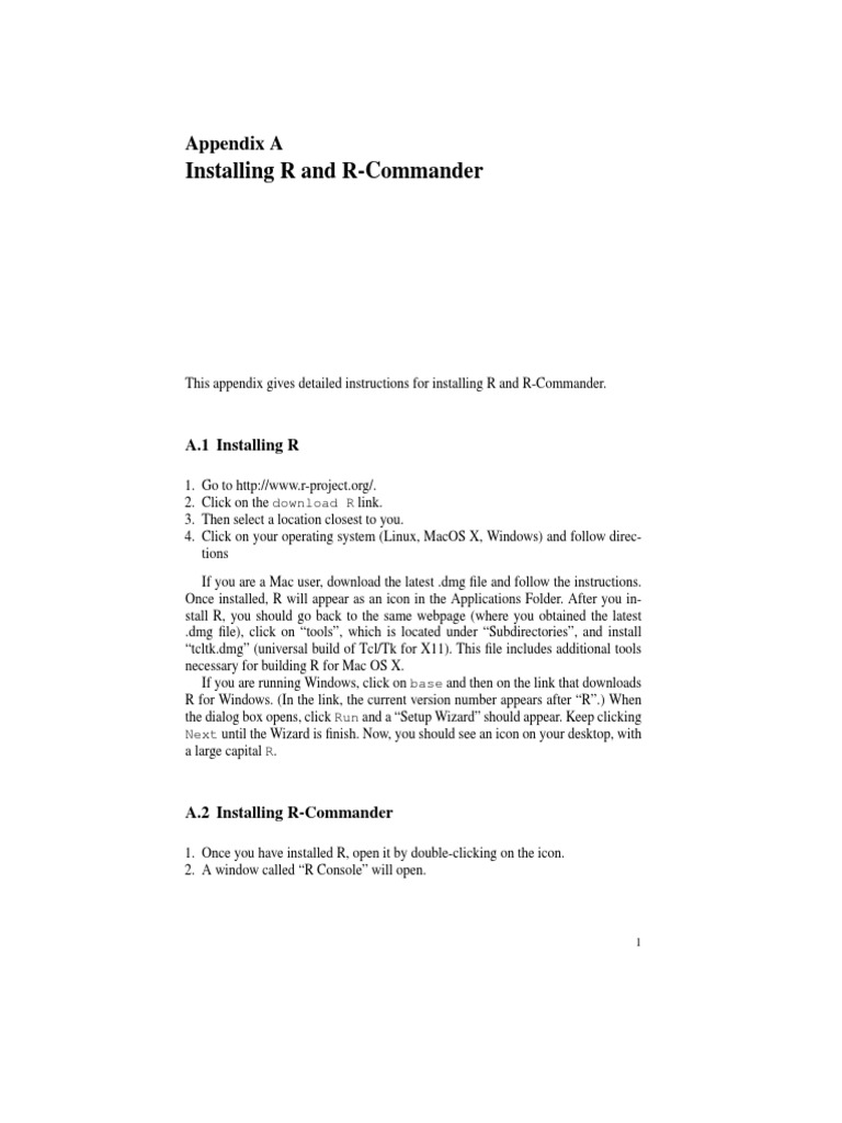 R Installing | Command Line Interface | Icon (Computing)