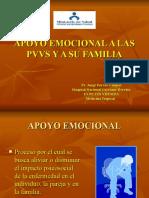Apoyo Emocional a Las Pvvs y a Su Familia