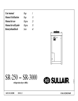 SR250-SR3000 SullairDryer