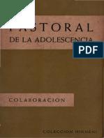 Chappoulie - Pastoral de La Adolescencia