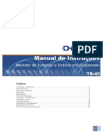 Manual Turbidímetro DIGIMED