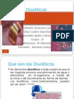 Diureticos farmaco