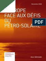 Albert Bressand - L'Europe face aux défis du pétro-solaire