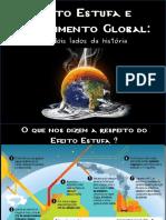 Apresentação Efeito Estufa e Aquecimento Global