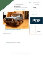 Miniatura 1-18 Renault 4L ( bastante rara ) Alfena • OLX Portugal