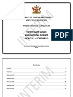 Infants to Std 5 Curriculum Guide Agricultural Science