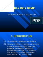 Teoria Jurídica do Crime