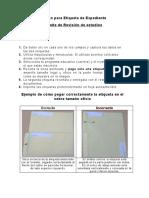 Formato Para Etiqueta Revision de Estudios 2016-2