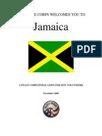 Peace Corps Jamaica Welcome Book  |  November 2009