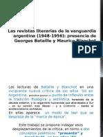 Bataille y Blanchot en Argentina 1948 y 1953