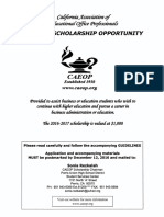 CAEOP Scholarship