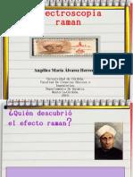 ESPECTROSCOPIA DE RAMAN