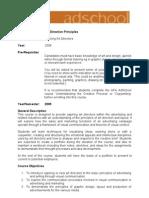 Art Direction Principles Including Assessments (2)