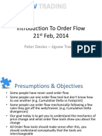 Introduction to Order Flow
