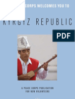Peace Corps Kyrgyz Republic Welcome Book  |  May 2008