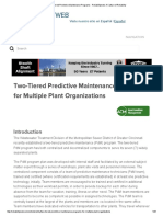 Two-Tiered Predictive Maintenance Programs - Reliabilityweb_ a Culture of Reliability