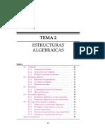 TEMA 2- Estructuras Algebraicas