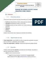Grandes Ideias Resumo 5 CN