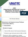 Mecanismo de Examen de Las Políticas Comerciales (MEPC)