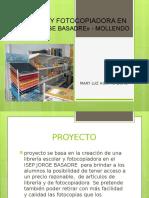 Librería y Fotocopiadora en El Isep Jorge Basadre