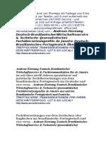 index de Juristische Fachübersetzungen