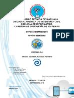 Manual de Instalacion de Pentaho