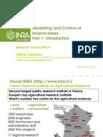 Slides Cours Modelling Control Bioprocesses Part1 Introduction Print