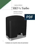 Manual Rio Turbo 1.4 Digital (Central Facility Top)