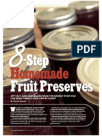 8 Step Homemade Fruit Preserves