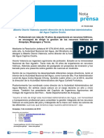 Nota de Prensa Nº 179-2016