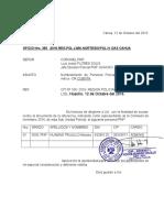 Oficio de Relacion Del Personal Nombrado Inventario 2016.