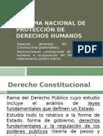 Sistema nacional de protección de derechos humanos