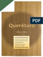Indice del Producto Turistico el Estado de Querétaro