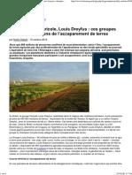 Bolloré, Crédit Agricole, Louis Dreyfus _ Ces Groupes Français, Champions de l'Accaparement de Terres - Basta !