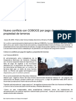 Minería _ Capinota