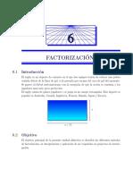 Cap6. FACTORIZACIÓN