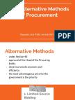 PA113 Procurement