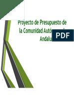 PRESUPUESTOS ANDALUCIA
