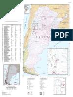 Mapa de Fallas Geologicas Argentina