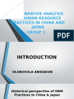 Comparative Analysis in Hrm Between China Japan 2
