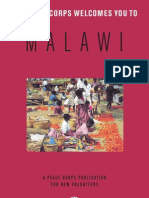 Peace Corps Malawi Welcome Book     September 2006