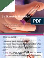 La Biometría Hemática