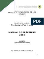 Controles Electricos - Manual de Practicas 2015